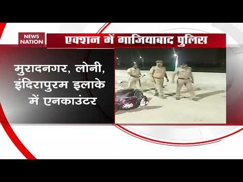 Uttar Pradesh Police arrests gangsters after encounters in Ghaziabad