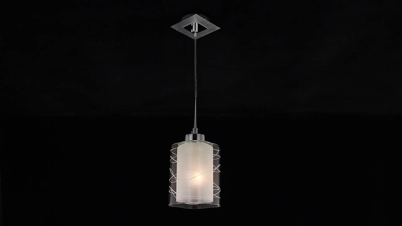 Подвесной светильник Citilux Румба CL159110 Белый + Хром