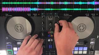 Traktor S2 MK3- Classic Dance/Electronic music DJ mix