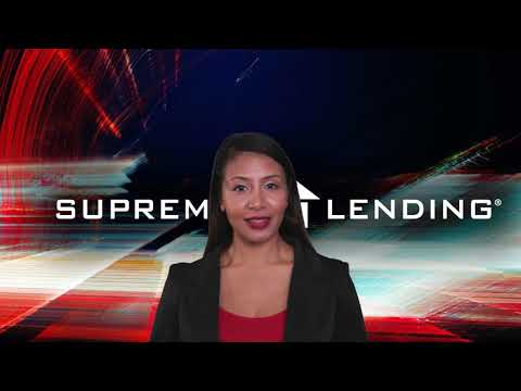 Get An Affordable Mortgage Lender With Supreme Lending San Antonio