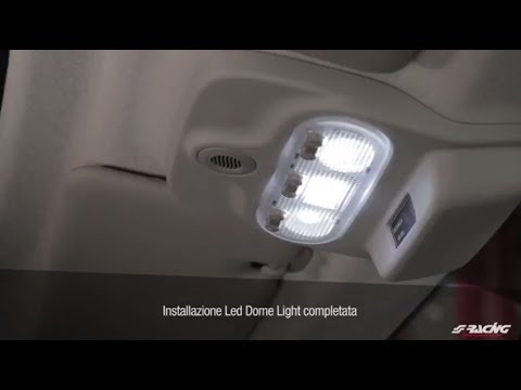 Plafoniere Per Interni Auto : Ita] smart 453 luci interni led conversion simoni racing youtube
