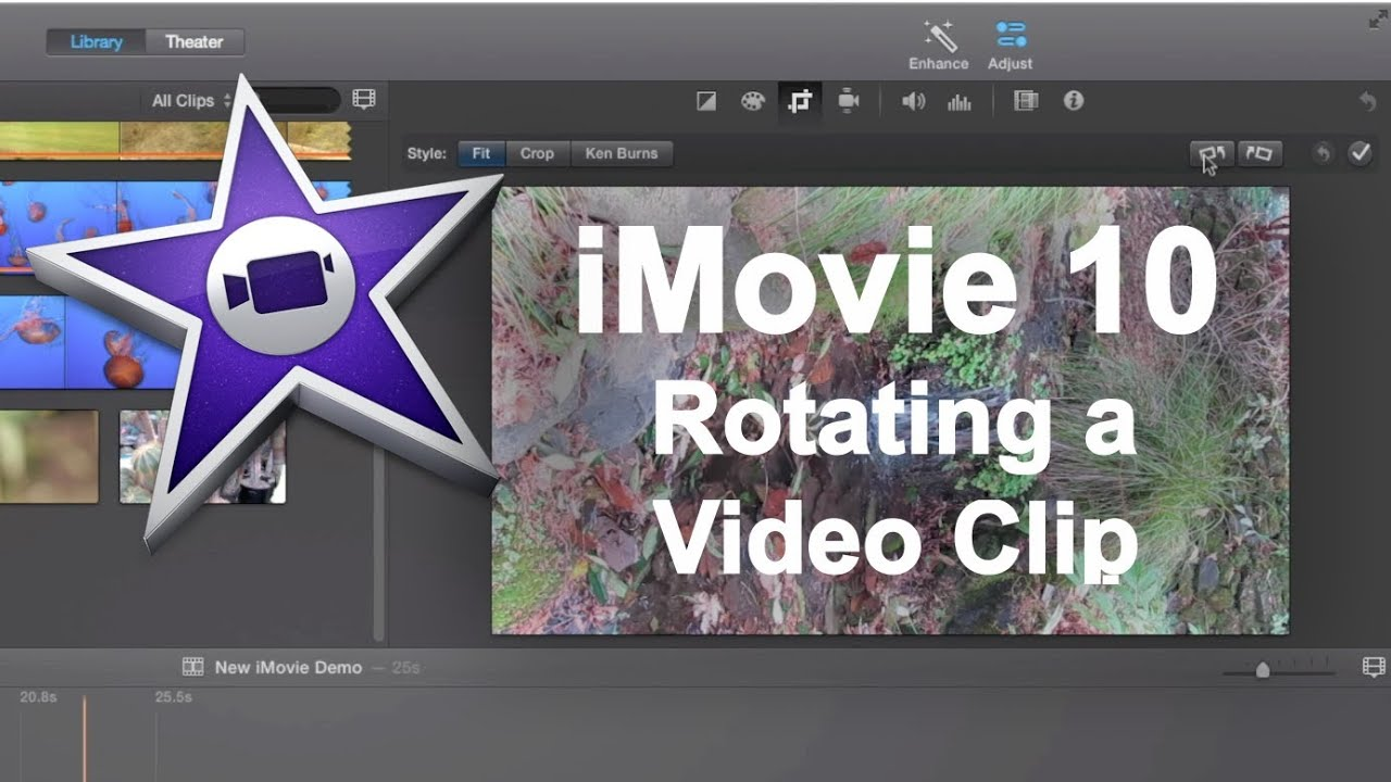 Imovie 10 quick tip rotating a video clip youtube imovie 10 quick tip rotating a video clip ccuart Gallery