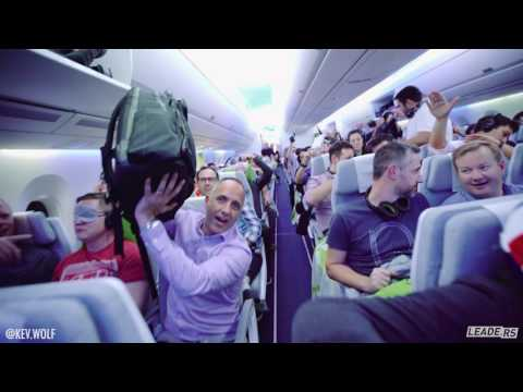 We Asked the Entire Plane to do the Mannequin Challenge