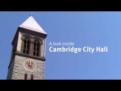 A Look Inside Cambridge City Hall
