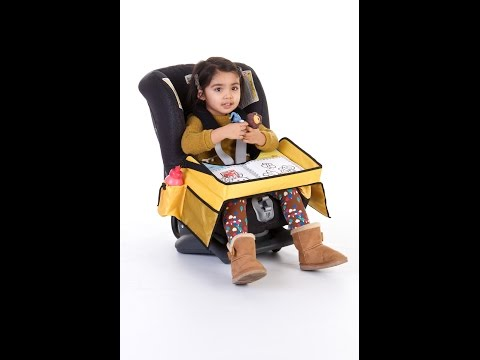 Review of Kids Travel  Snack and Play Car Seat Tray for Eating & Drinking & Playing on the Go