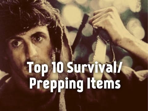 (2016) My Top 10 List of Survival/Prepping Gear