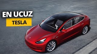 EN UCUZ TESLA NELER SUNUYOR? - Tesla Model 3s