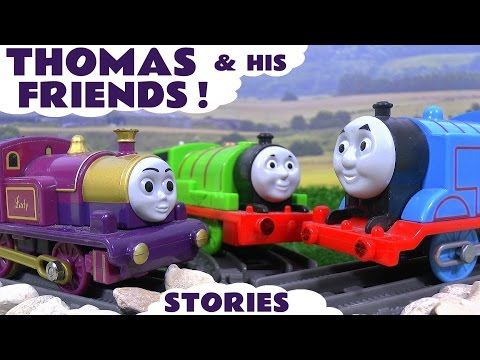 Thomas and Friends Compilation of Episodes & Stories with Disney Cars Play Doh & Surprise Eggs TT4U