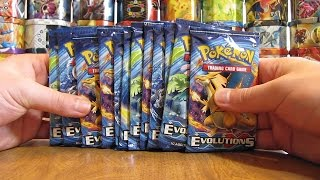 12 Evolutions Booster Pack Opening (Amazing Pulls!)