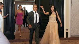 Grand Entrance of A Sweet Sixteen Birthday Party at Crystall Banquet Hall Toronto