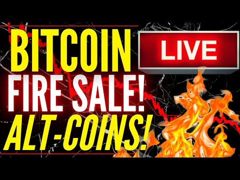 🔥 BITCOIN FIRE SALE!!!!!!!!!! WHAT TO DO NOW?! ALTCOIN, BITCOIN & ETHEREUM LIVE SHOW 🚨
