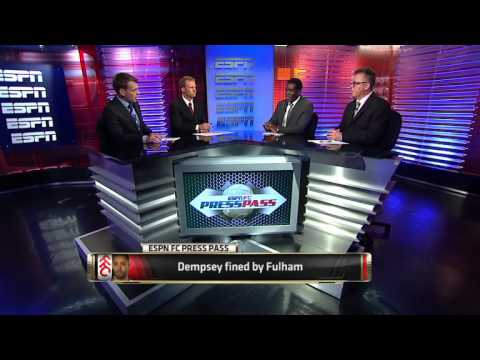 Dempsey disciplined