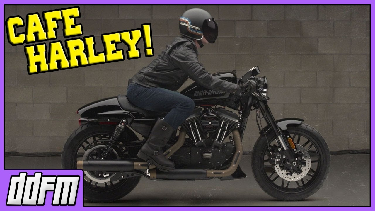 Fabuleux Official Harley Davidson Sportster Cafe Racer Kit!! - YouTube LE68
