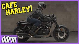 Official Harley Davidson Sportster Cafe Racer Kit!!