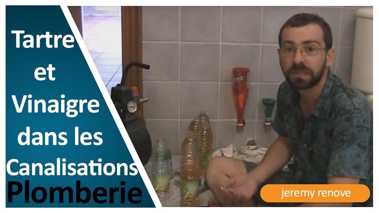 Experience Tartre Dans Les Canalisation Comment Les Deboucher Avec Du Vinaigre Youtube