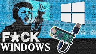 Удаленный доступ к любой версии Windows | P4wnP1 Backdoor rpi0w