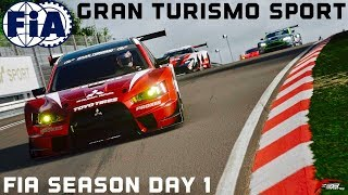GT Sport - FIA Official Season Highlights (Day 1)