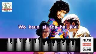 Tumhe dekhe meri aankhe Full Karaoke song for male singers with Lyrics