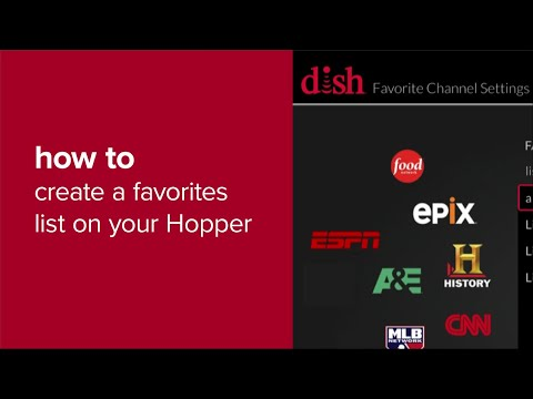 How To Create A Favorites List On Your Hopper