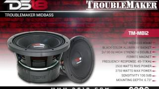 ds18 troublemaker 12 midbass