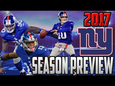 2017 NEW YORK GIANTS SEASON PREVIEW & PREDICTIONS, WILL THE GIANTS WIN THE NFC EAST? NFL PREDICTIONS