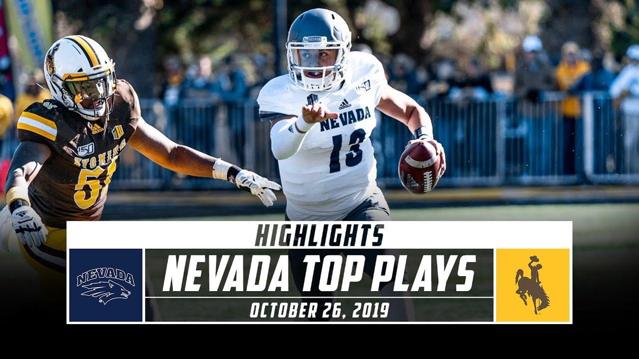 Nevada Football Top Plays Vs Wyoming 2019 Stadium Youtube