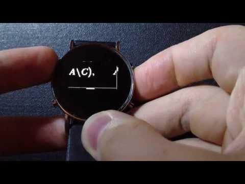 Часы шпаргалка CHEATWATCH 5S с картинками, обзор