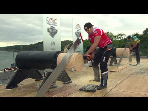 SEMI FINAL O'Toole vs Dubicki // Kungsbacka (SWE) 2019 // STIHL TIMBERSPORTS® Champions Trophy