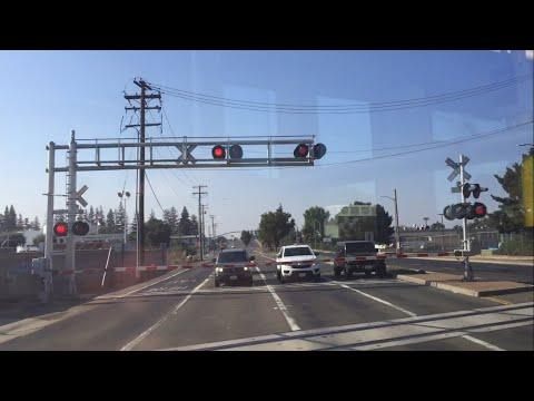 Riding Sacramento Light Rail Gold Line Inbound Mather Field/Mills To College Greens