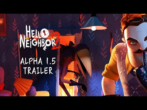 Hello Neighbor 2 Alpha 1.5 Trailer [4K]