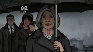 Archer Funeral Season 8 Intro
