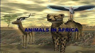 Roblox | Documentario di savana selvaggia | Animali dell'Africa