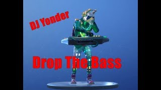 Fortnite 'NEW' Drop The Bass Emote Avec DJ Yonder Skin
