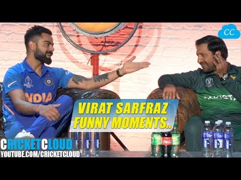 Virat Kohli Sarfraz Funny Moment at World Cup 2019 Press Conference