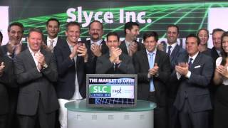 Slyce Inc. (SLC:TSX-V) Opens Toronto Stock Exchange, July 31, 2014.