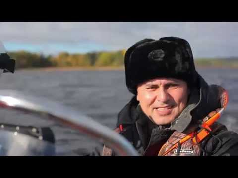 "Катер ""Буревестник-450"" на Ладожском озере"