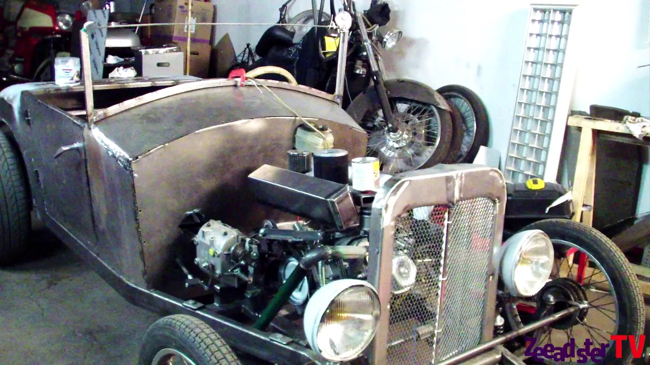 Diy Hot Rod Go Kart Fuel Tank Youtube