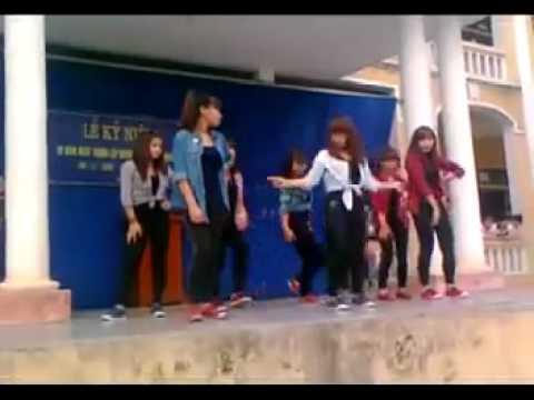 nhảy hiện đại học sinh THPT Đồng Đậu