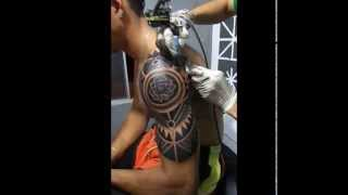 Video TIAGO TATTOO) - MAORI PERSONALIZADO TERMINADO download MP3, 3GP, MP4, WEBM, AVI, FLV Agustus 2018