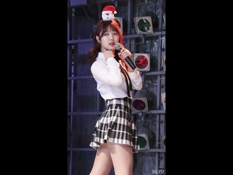 161225 베이비부 (BabyBoo) 지유니 직캠 - Kiss Me (신발 프로젝트)  By 애니닷