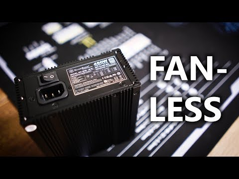 This is a Fanless, Fully-Modular SFX-L Power Supply!