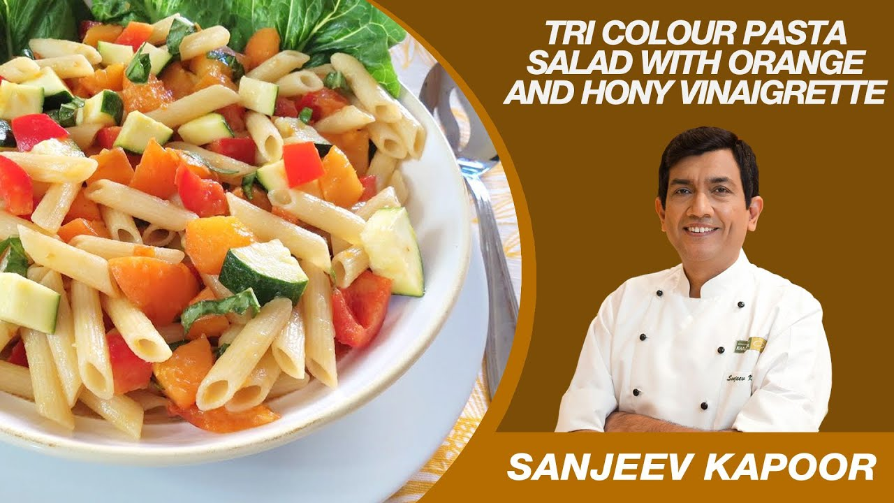 Tri colour pasta salad salad recipe by sanjeev kapoor vegetarian tri colour pasta salad salad recipe by sanjeev kapoor vegetarian youtube forumfinder Images