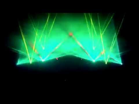 Energy 2000 Katowice Laser-Show Mediam Kraków