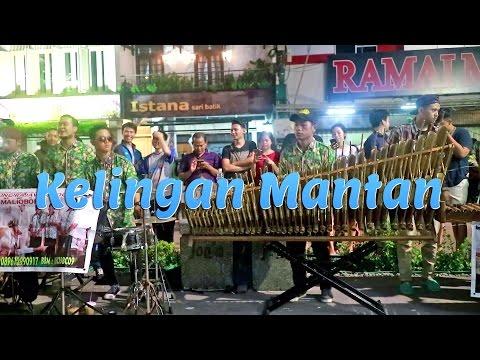 KELINGAN MANTAN - Angklung Malioboro (Pengamen Kreatif Jogja) Edisi Rajawali (NDX AKA)