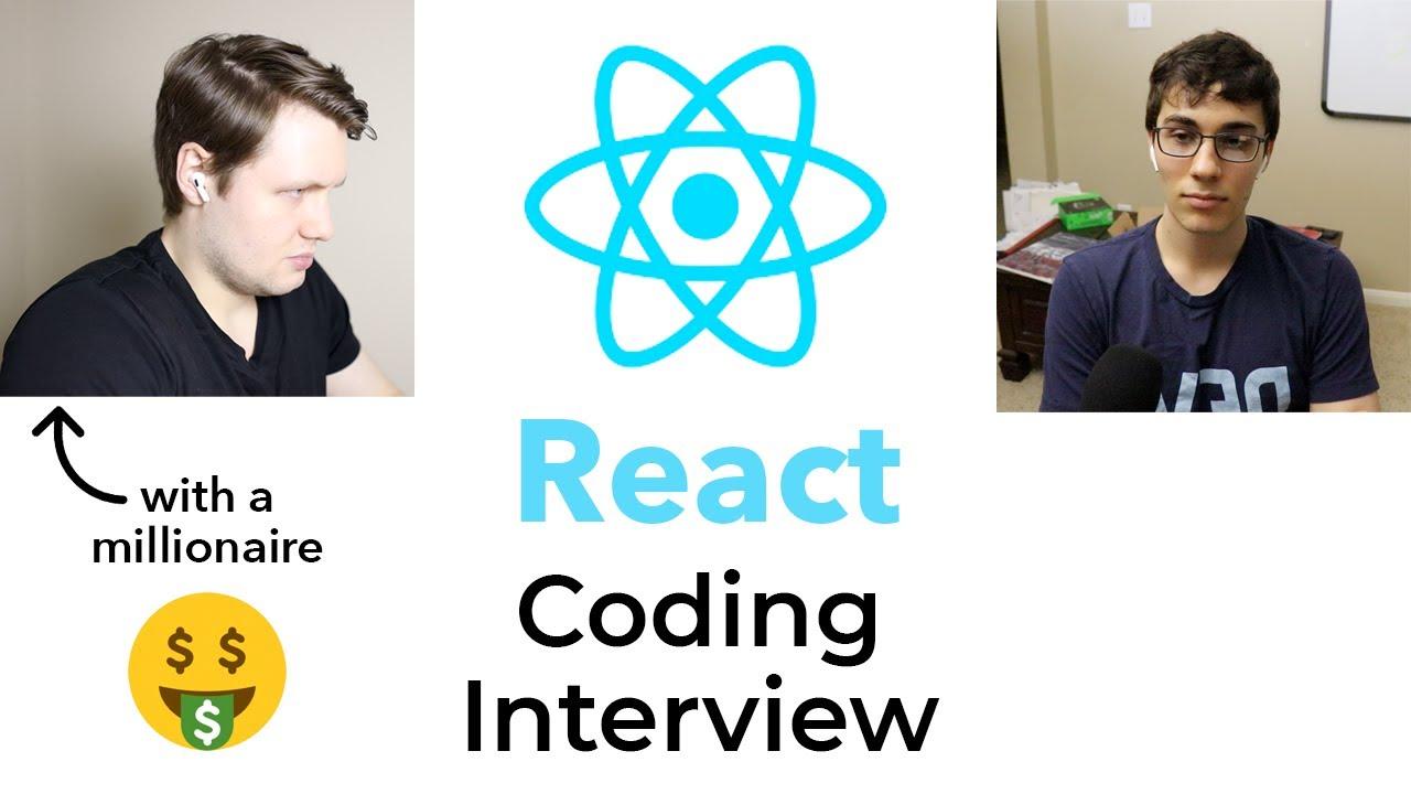 Beginner React.js Coding Interview (ft. Clément Mihailescu)