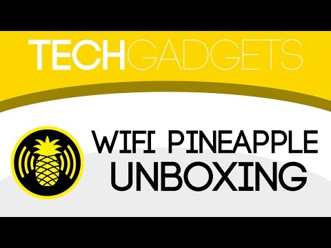 Tech Gadgets: WiFi Pineapple Tetra Tactical Unboxing