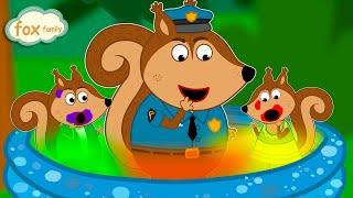 Fox Family Сartoon for kids #497