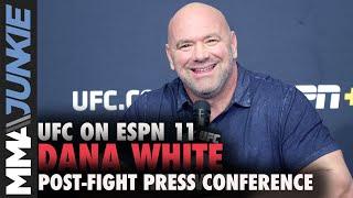 Dana White criticizes Curtis Blaydes, rips Bob Arum | UFC on ESPN 11 post-fight interview