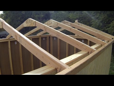 how-to-build-a-shed:-building-&-installing-roof-rafters
