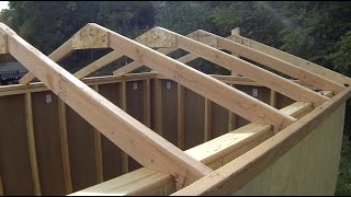 06 Build the Roof part 1 How to Build a Shed